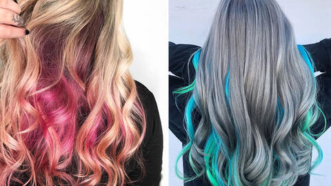 27 Peekaboo Highlight Ideas To Bring To The Salon In 2021 Hair Com By L Oreal