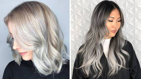The Most Stunning Gray Hairstyle Ideas To Try This Year Hair Com By L Oreal