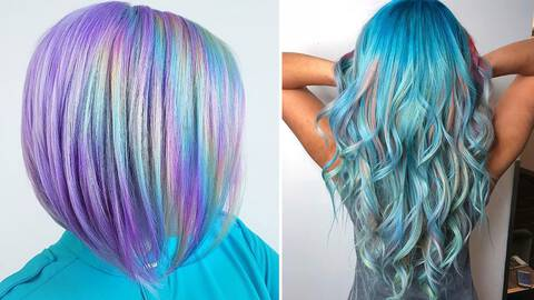 16 Holographic Hair Color Ideas To Get Colorful In 2021 Hair Com By L Oreal