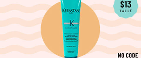 FREE Kérastase deluxe sample with your $65+ order
