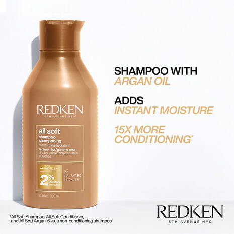 All Soft Shampoo + Conditioner Duo
