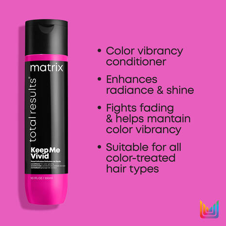 Total Results Keep Me Vivid Nourishing Conditioner