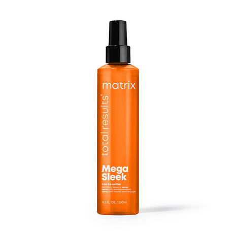 Total Results Mega Sleek Iron Smoother Leave-In Spray