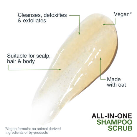 All-In-One Shampoo Scrub with Oat