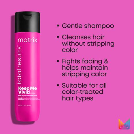 Total Results Keep Me Vivid Sulfate-Free Shampoo