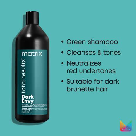 Total Results Dark Envy Green Toning Shampoo