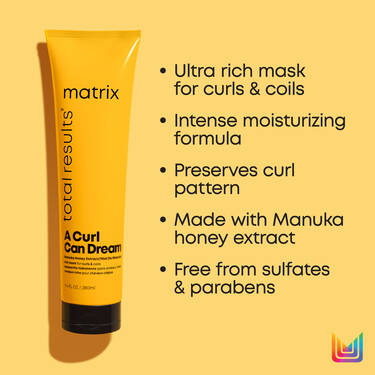 A Curl Can Dream Rich Mask for Curly and Coily Hair