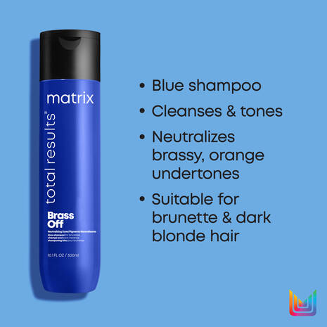 Total Results Brass Off Shampoo + Conditioner Duo