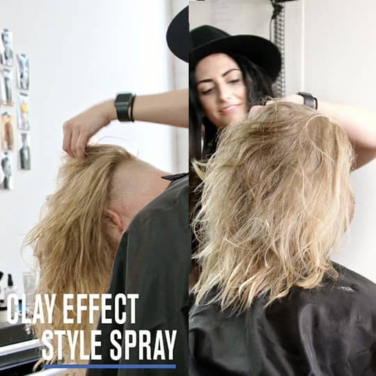 5 Styles 1 Product How To Use Clay Effect Styling Spray Hair Com By L Oreal