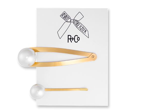 R+CO Pearl Hair Pins