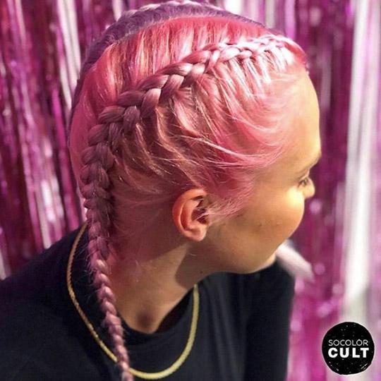 festival hairstyles bubblegum dutch braids