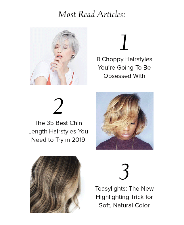Hair.com Top 3 Most Read Articles
