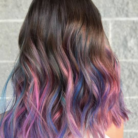 Rainbow Hair Photos