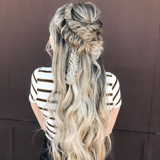 festival hairstyles boho braids