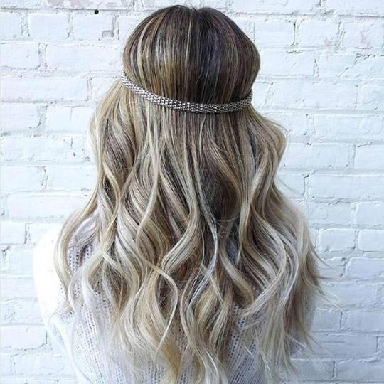 festival hairstyles jeweled headband
