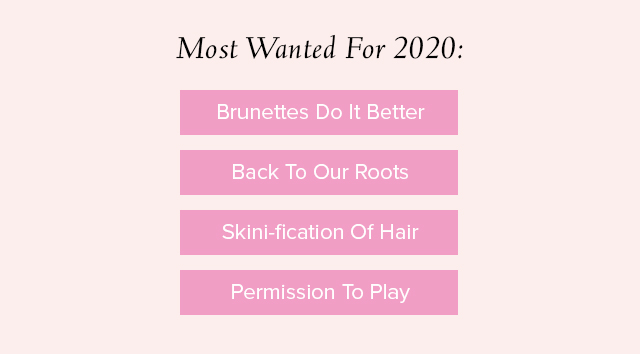 Hair.com Most Most Wanted for 2020