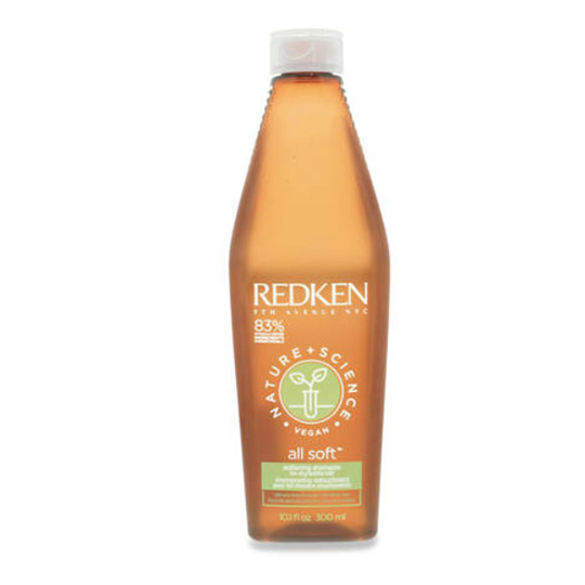 photo of redken nature + science all soft shampoo for dry hair