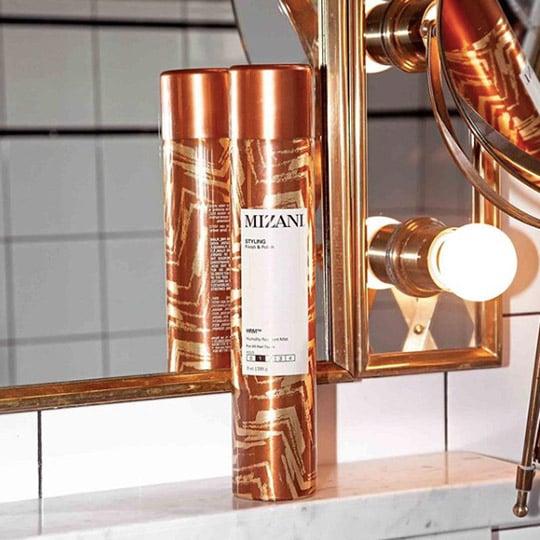 mizani humidity resistant light hold hairspray