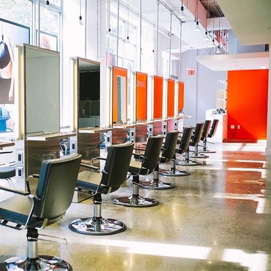 arrojo salon chairs