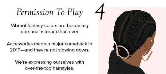 2020 Hair Trends - Permission To Play