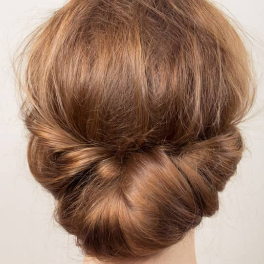 wedding hair chignons