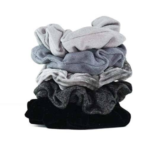 healthy hair accessories - Kitsch Velvet Scrunchies