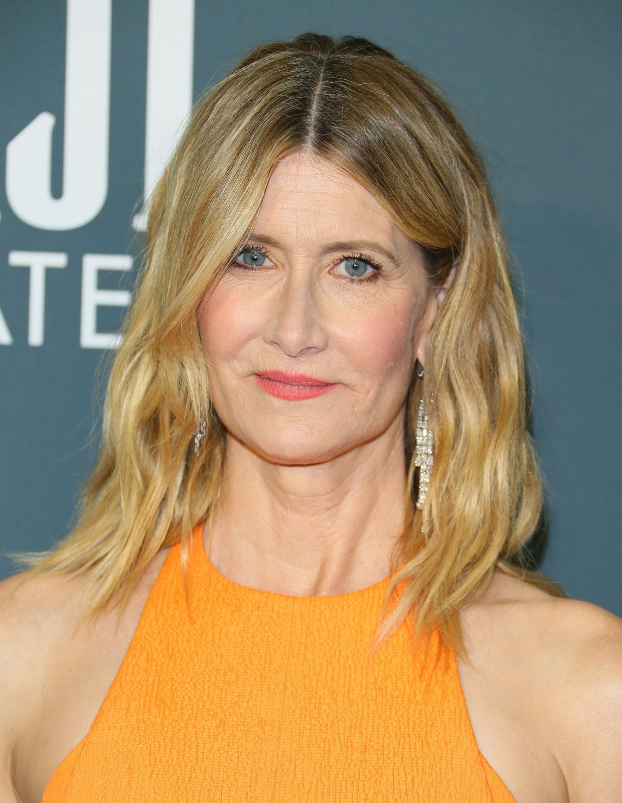 Laura Dern Red Carpet Hairstyle Critic's Choice Awards