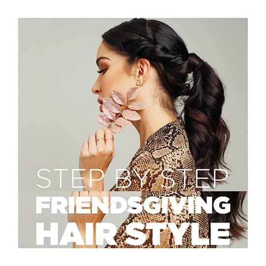 friendsgiving hair