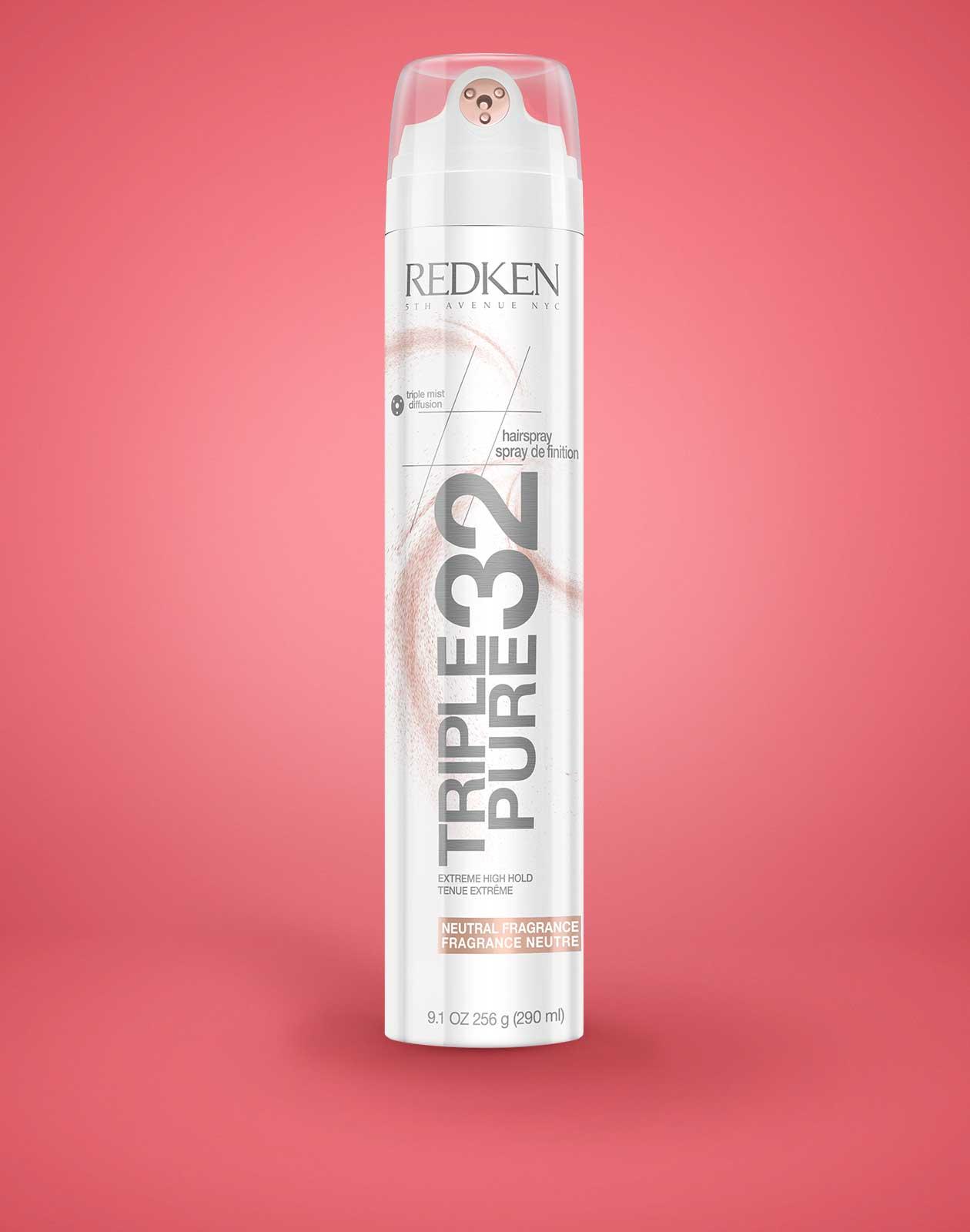 redken triple pure 32 hairspray