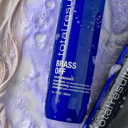 Brass Off Shampoo Hair Toner