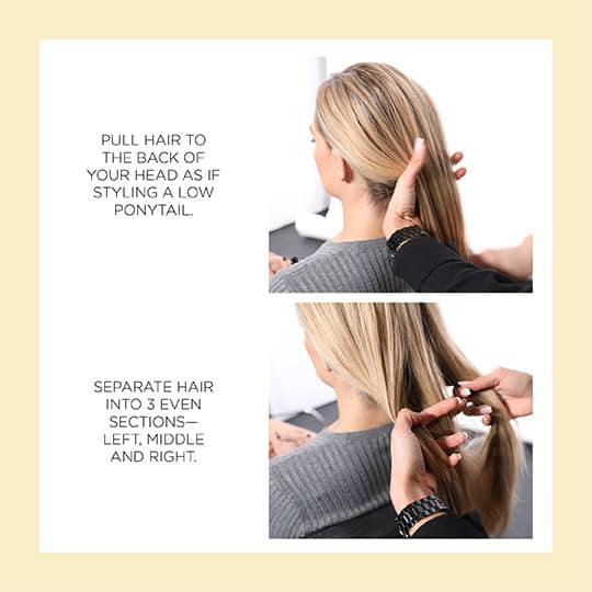 how to style a standard braid