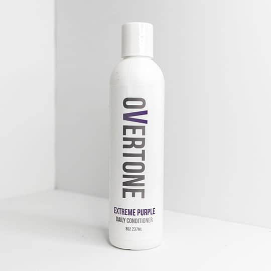 overtone extreme purple color depositing conditioner