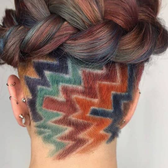 Undercut Hairstyles For Women That Are Making A Comeback Hair Com By L Oreal,Geometric Design Patterns Black And White