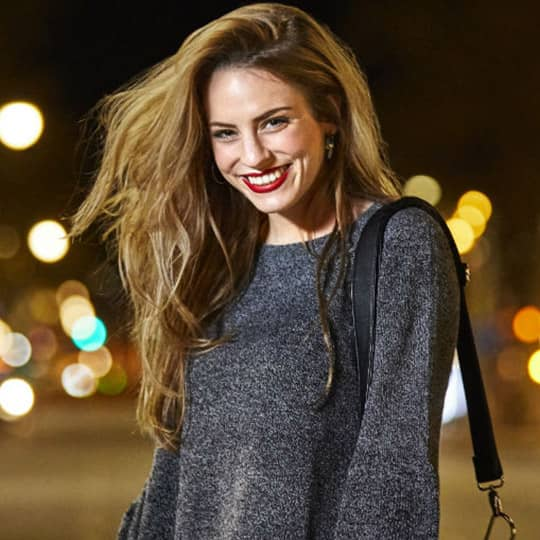 photo of bronde hair fall hairstyles