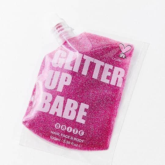 Glitter up babe hair glitter