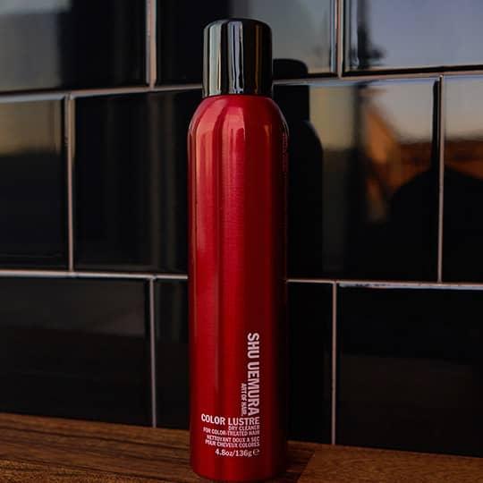 shu uemura color lustre dry shampoo review
