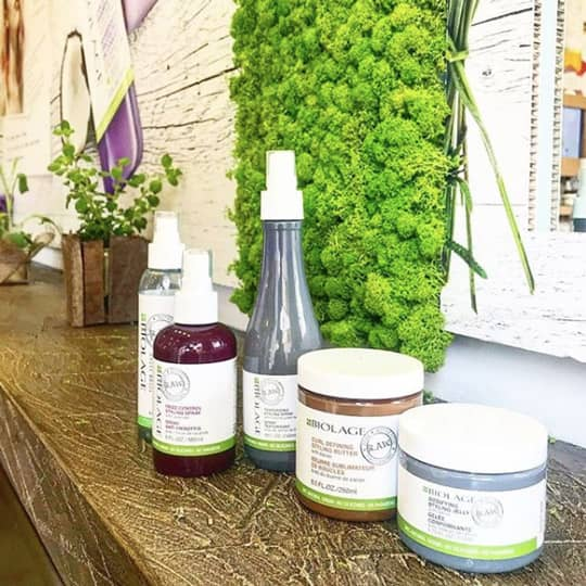 biolage spring hair care routine