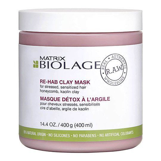 picture of the biolage rehab clay mask product