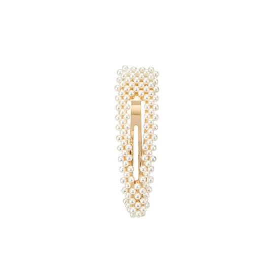 pearl hair barrette