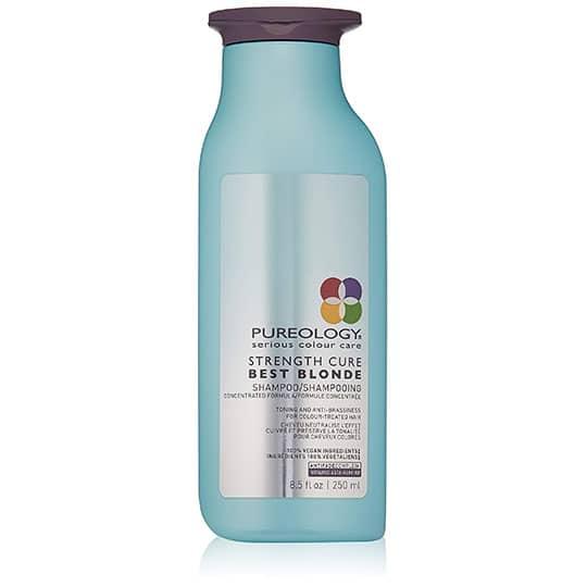 pureology blonde color depositing shampoo