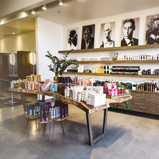 photo of atelier by square salon retail