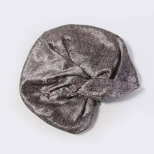 healthy hair accessories - slip hair turban