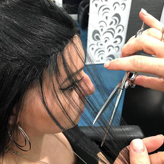 stylist salon client cancer hair journey