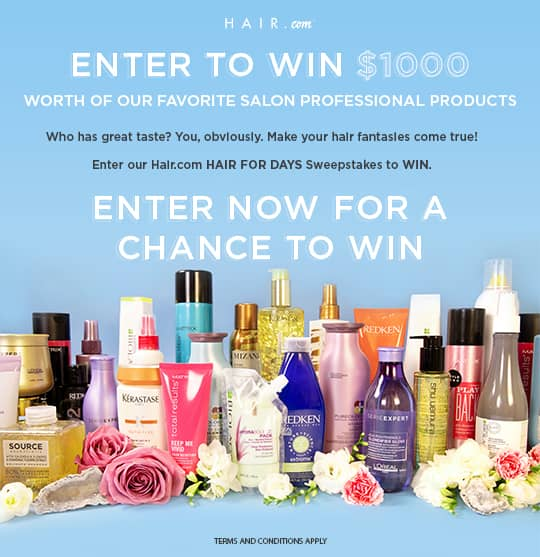 hair for days sweepstakes