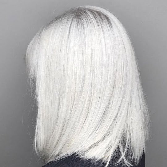 Khaleesi white hair