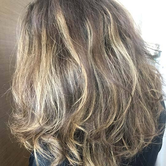 Writer Allie Chilicki Redken Color Extend Brownlights Review