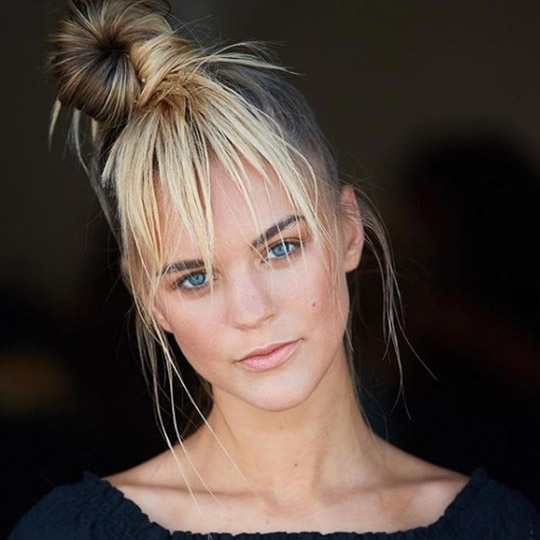 festival hairstyles faux fringe