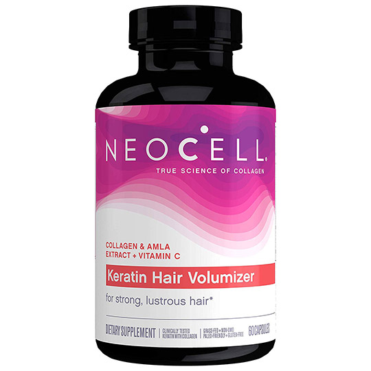 neocell keratin hair volumizer vitamins for hair