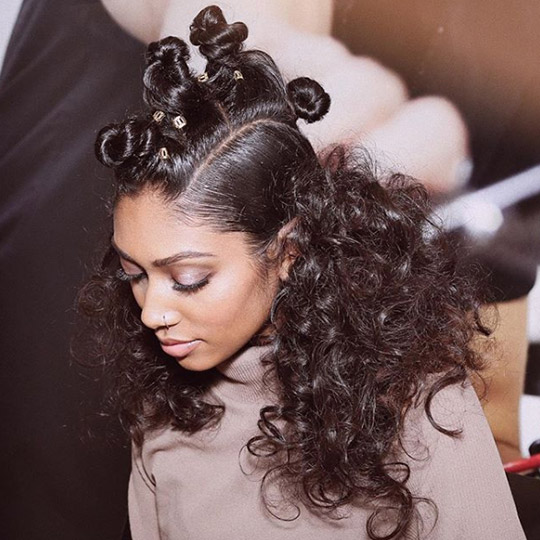festival hairstyles jumbo bantu knots