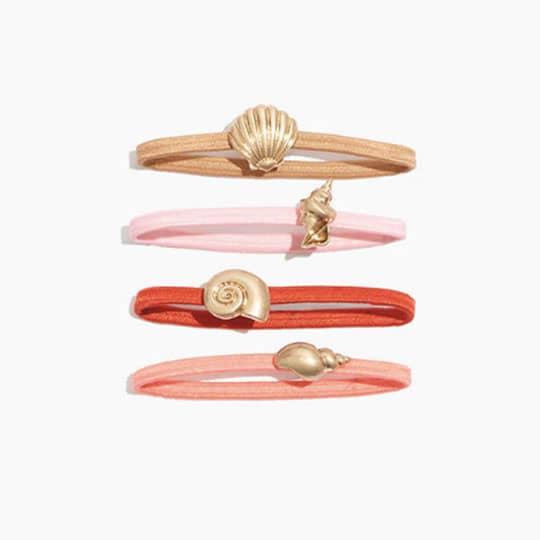 seashell hair bands
